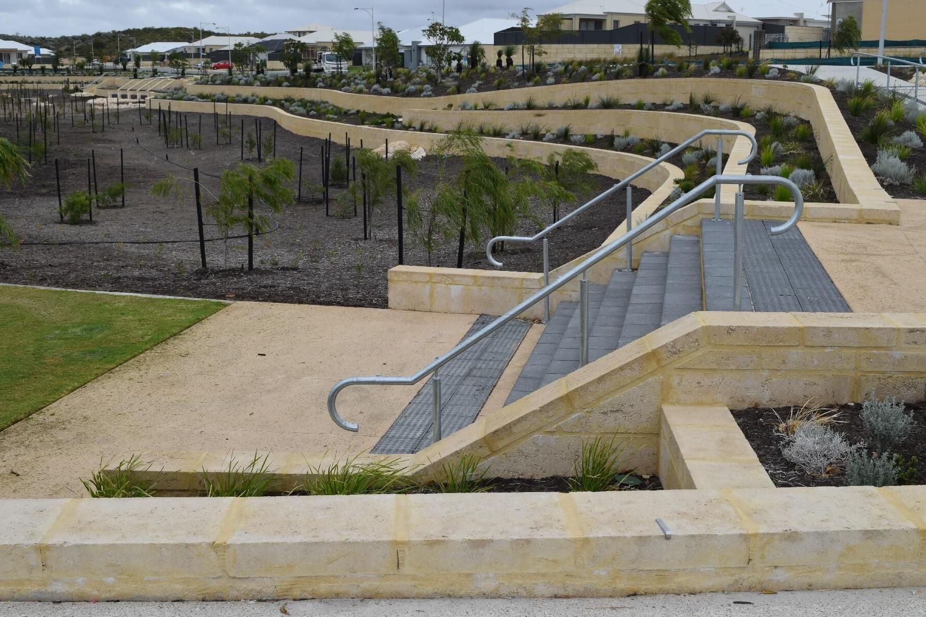 Limestone Retaining Walls Perth  Stone Wall Cladding   Civil ...